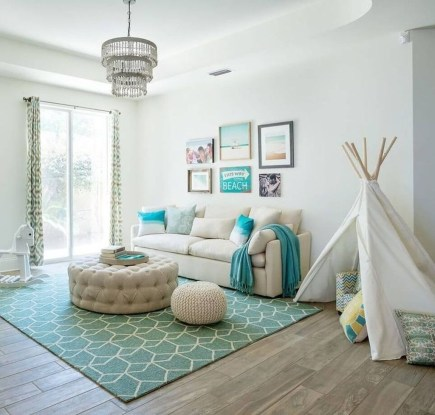 The Best Coastal Theme Living Room Decor Ideas 06