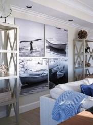 The Best Coastal Theme Living Room Decor Ideas 13