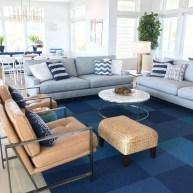The Best Coastal Theme Living Room Decor Ideas 15