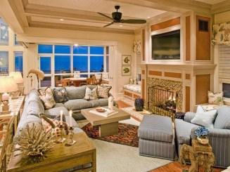 The Best Coastal Theme Living Room Decor Ideas 17