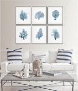 The Best Coastal Theme Living Room Decor Ideas 40