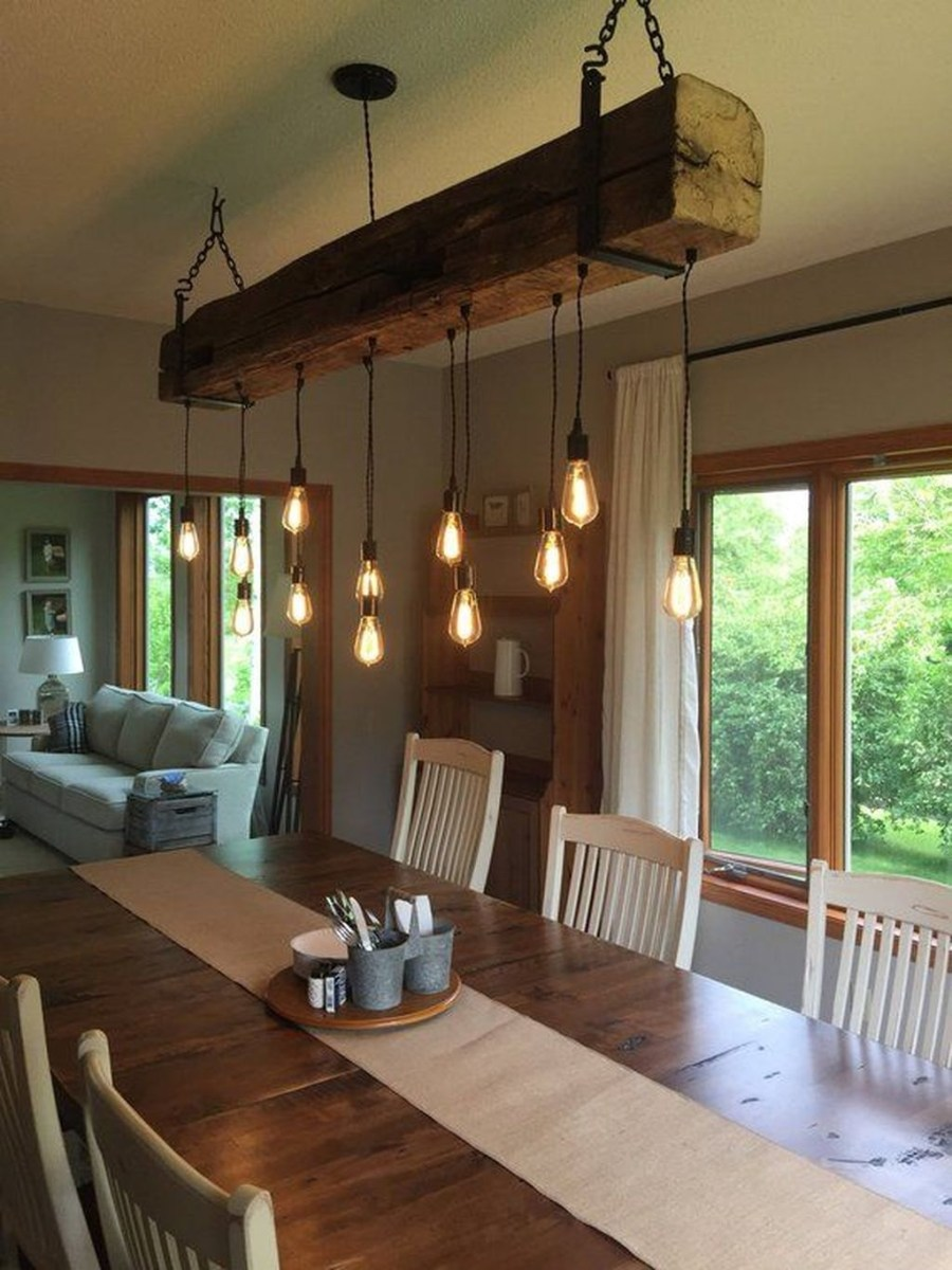 The Best Farmhouse Lights Design Ideas To Get A Vintage Impression 03