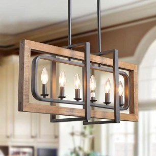 The Best Farmhouse Lights Design Ideas To Get A Vintage Impression 15