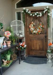 Best Easter Front Porch Decor Ideas 05