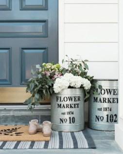 Best Easter Front Porch Decor Ideas 09