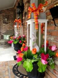 Best Easter Front Porch Decor Ideas 14