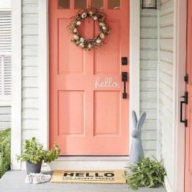 Best Easter Front Porch Decor Ideas 18