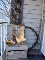 Best Easter Front Porch Decor Ideas 25