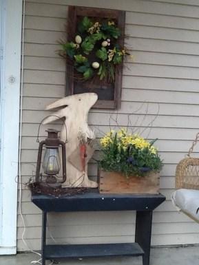 Best Easter Front Porch Decor Ideas 30