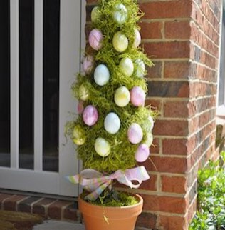 Best Easter Front Porch Decor Ideas 36
