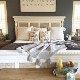 Elegant Farmhouse Bedroom Decor Ideas 10