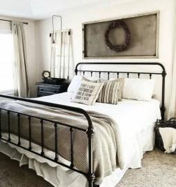 Elegant Farmhouse Bedroom Decor Ideas 42