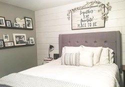 Elegant Farmhouse Bedroom Decor Ideas 43