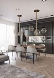 Elegant Modern Dining Table Design Ideas 07