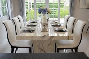 Elegant Modern Dining Table Design Ideas 09
