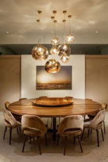 Elegant Modern Dining Table Design Ideas 40