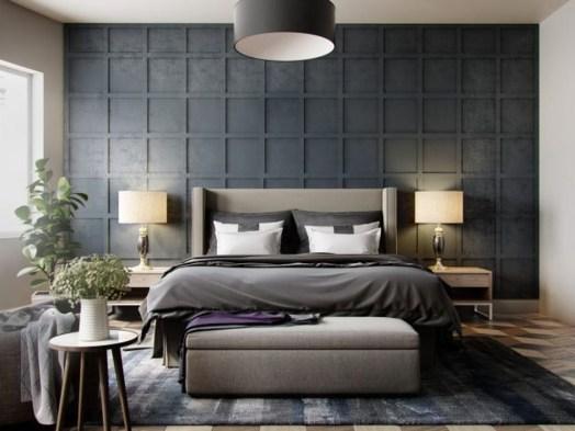 Gorgeous Modern Bedroom Decor Ideas 21