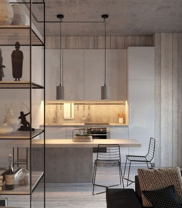 Stunning Modern Kitchen Design Ideas 17