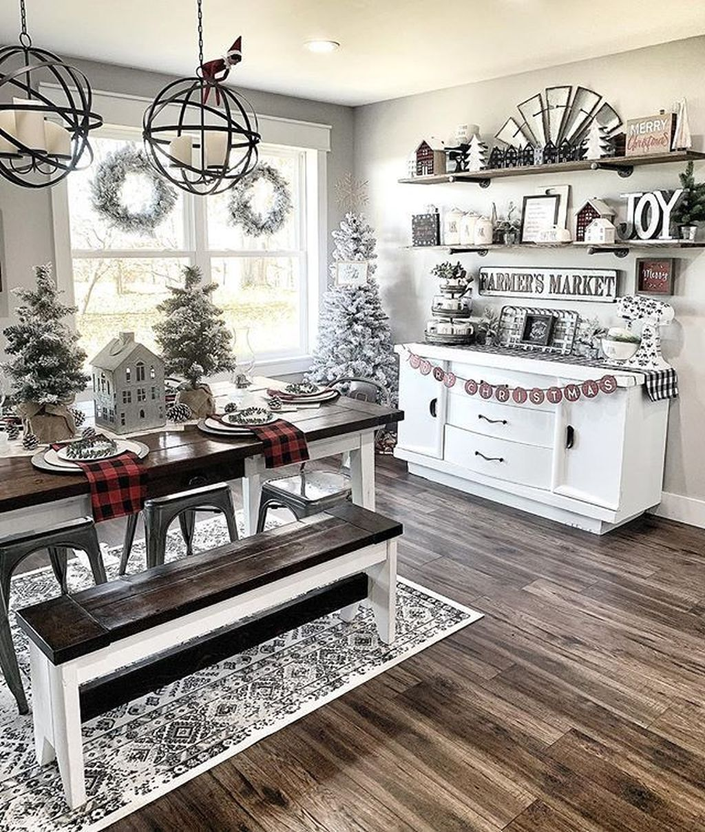 Inspiring Winter Kitchen Decor Ideas You Can Try 30