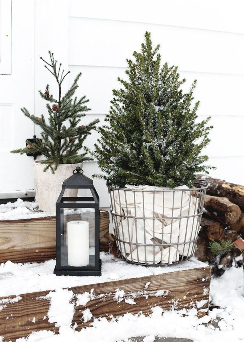 Popular Outdoor Decor Ideas For This Winter 24
