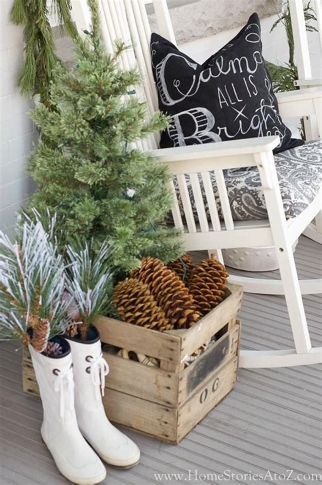 Popular Outdoor Decor Ideas For This Winter 31