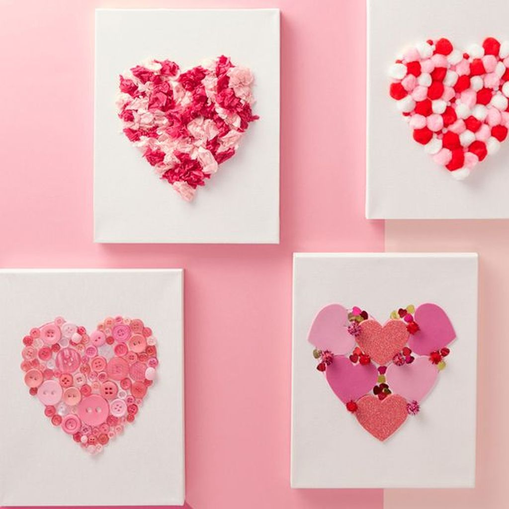 42 Inspiring Valentine Crafts Ideas For Your Home Decor