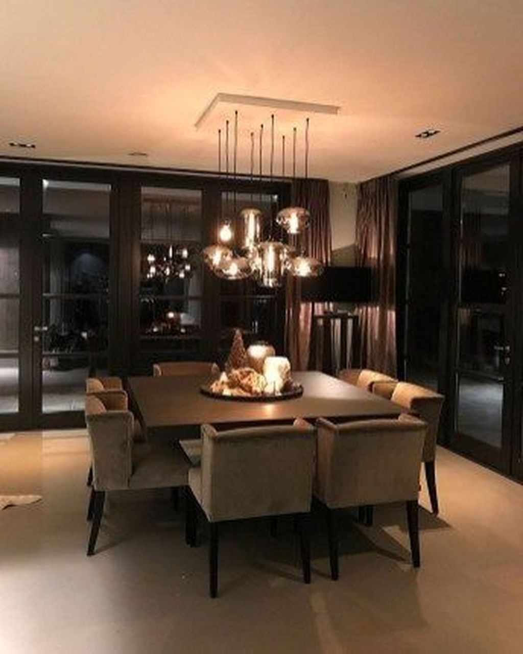 Popular Contemporary Dining Room Design Ideas 10