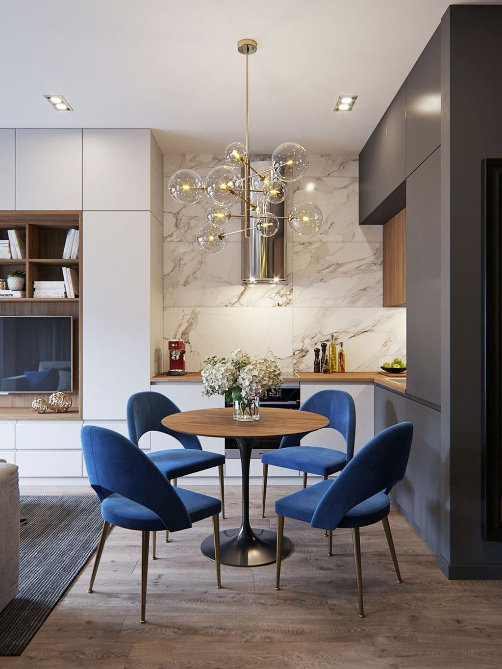 Popular Contemporary Dining Room Design Ideas 22