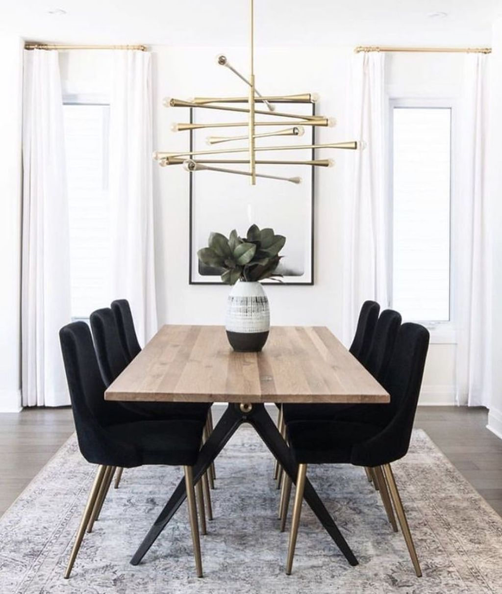Popular Contemporary Dining Room Design Ideas 26