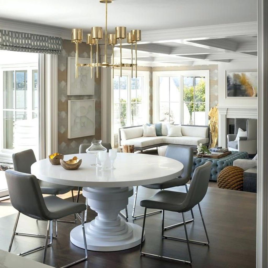 Popular Contemporary Dining Room Design Ideas 40