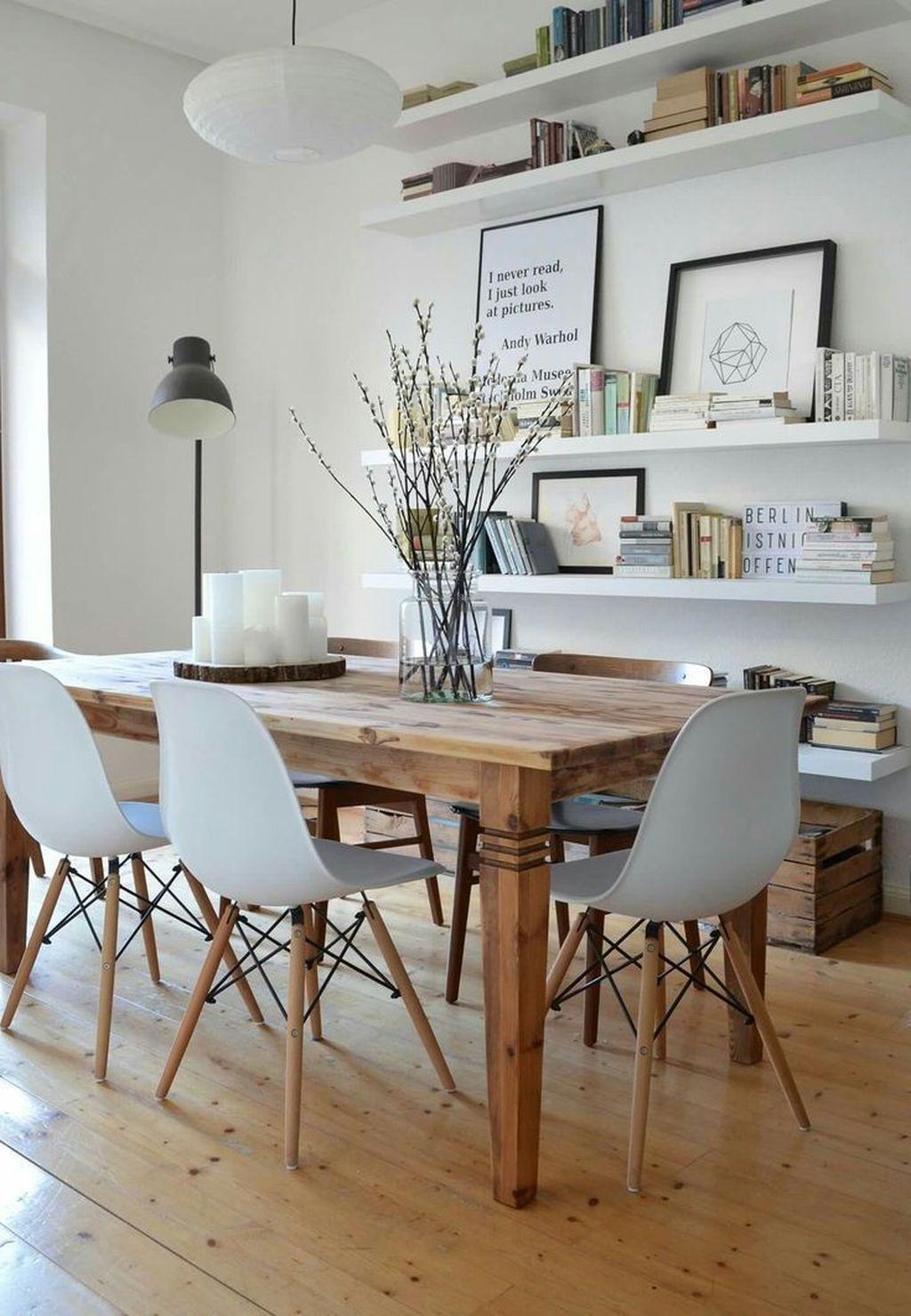 Popular Contemporary Dining Room Design Ideas 43