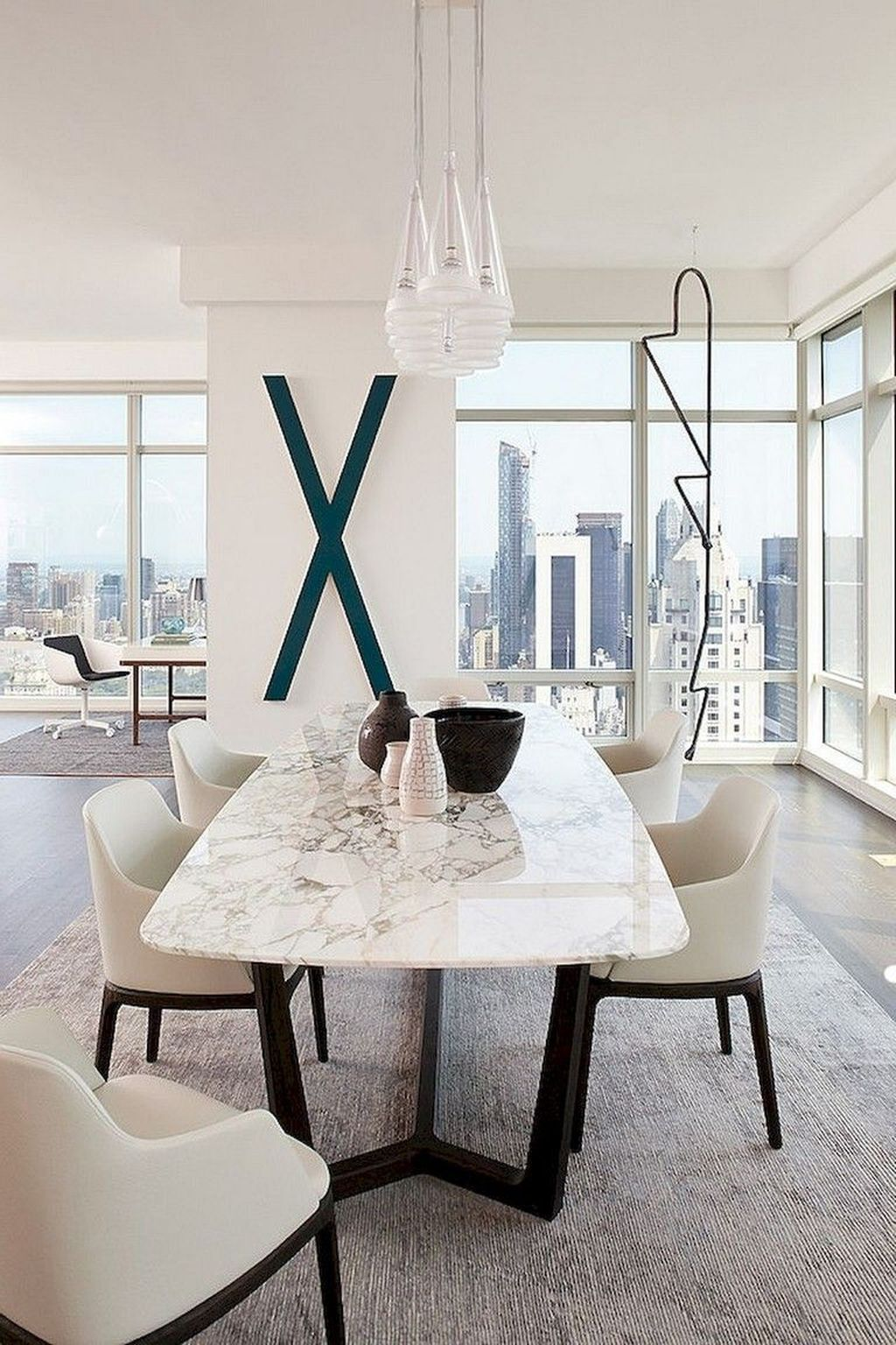 Popular Contemporary Dining Room Design Ideas 48