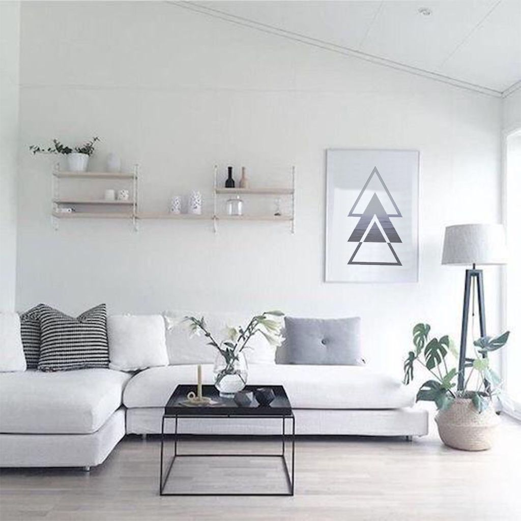 Awesome Minimalist Contemporary Living Room Decor Ideas 02