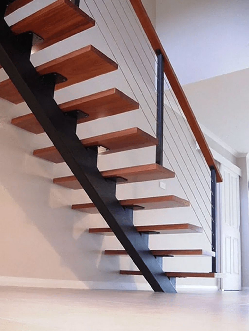 Brilliant Staircase Design Ideas To Beautify Your Interior 01