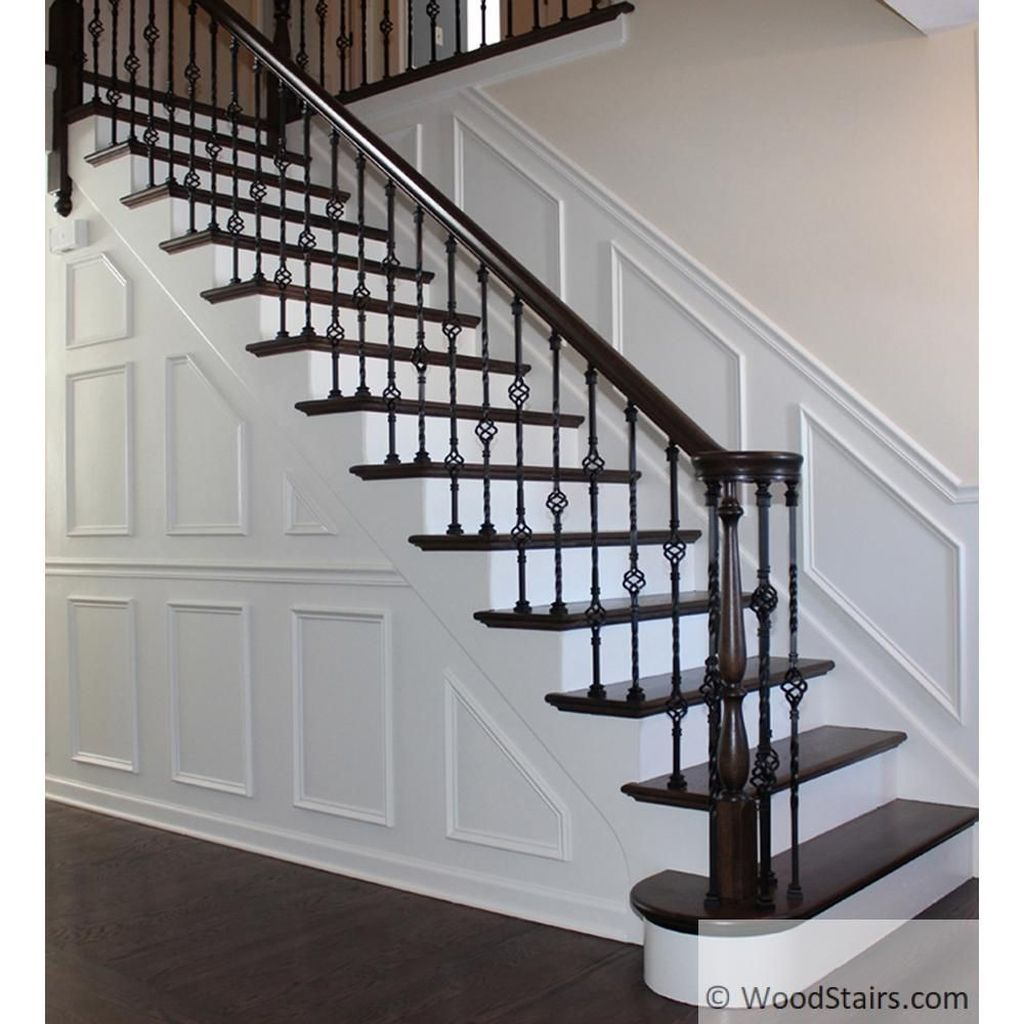Brilliant Staircase Design Ideas To Beautify Your Interior 07