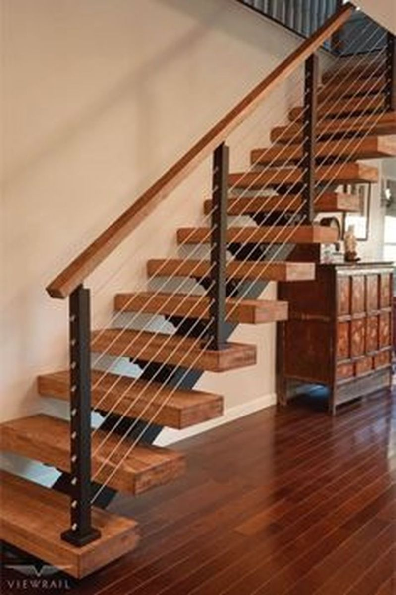 Brilliant Staircase Design Ideas To Beautify Your Interior 14