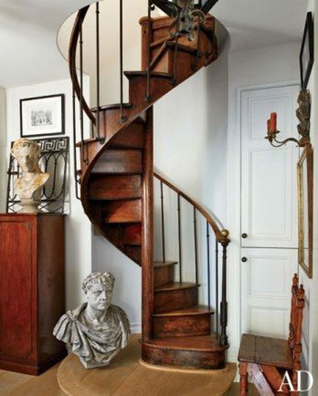 Brilliant Staircase Design Ideas To Beautify Your Interior 28
