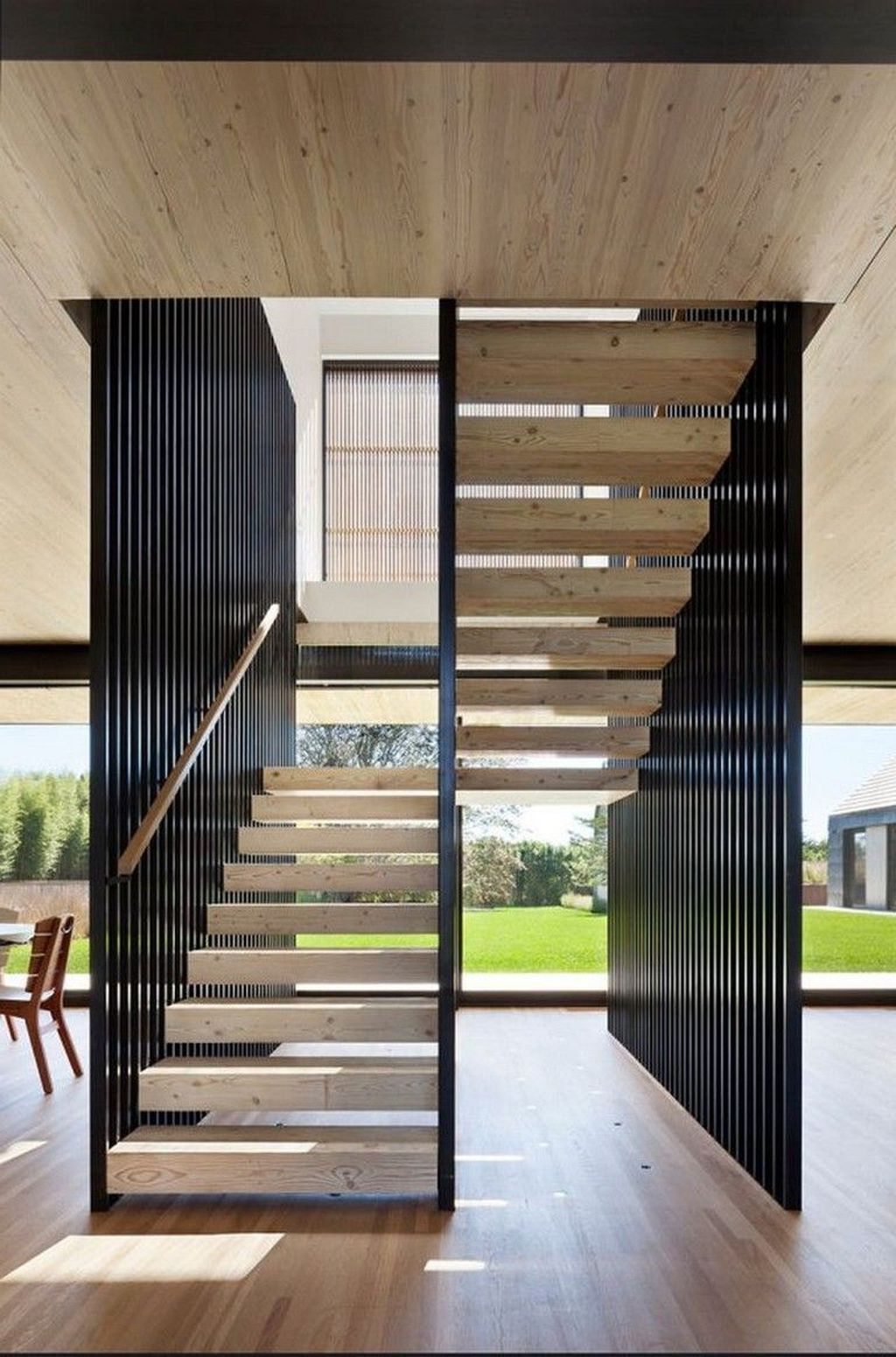 Brilliant Staircase Design Ideas To Beautify Your Interior 30
