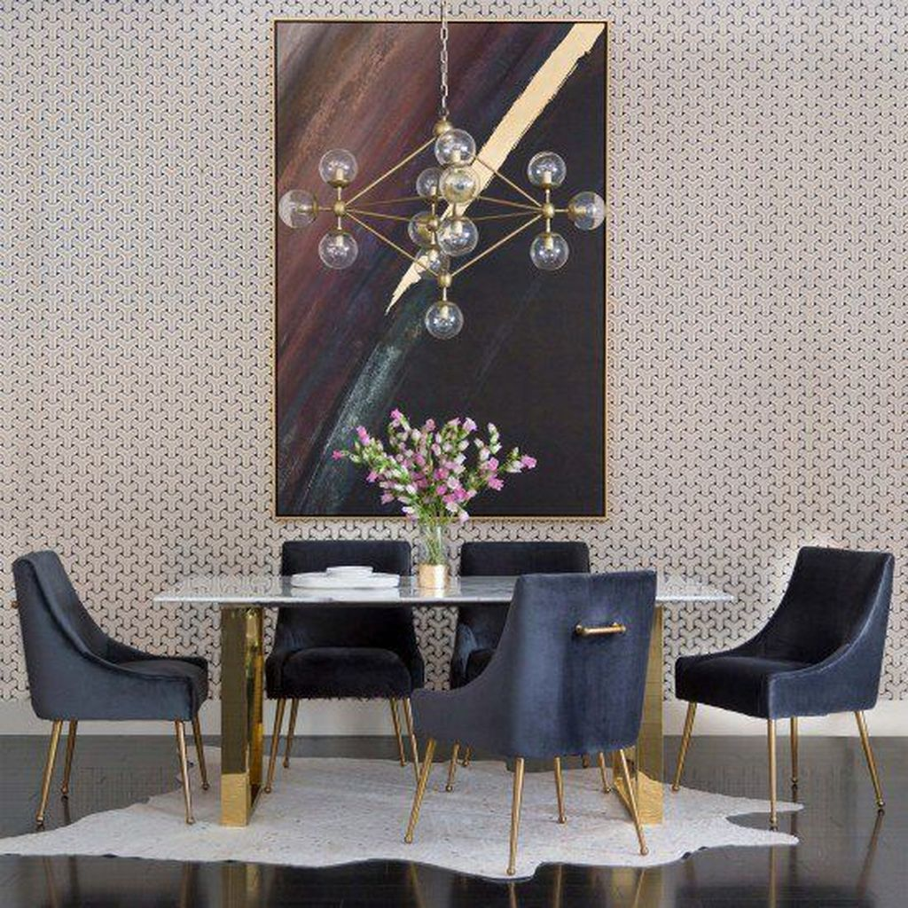 Fabulous Contemporary Dining Room Decorating Ideas 03