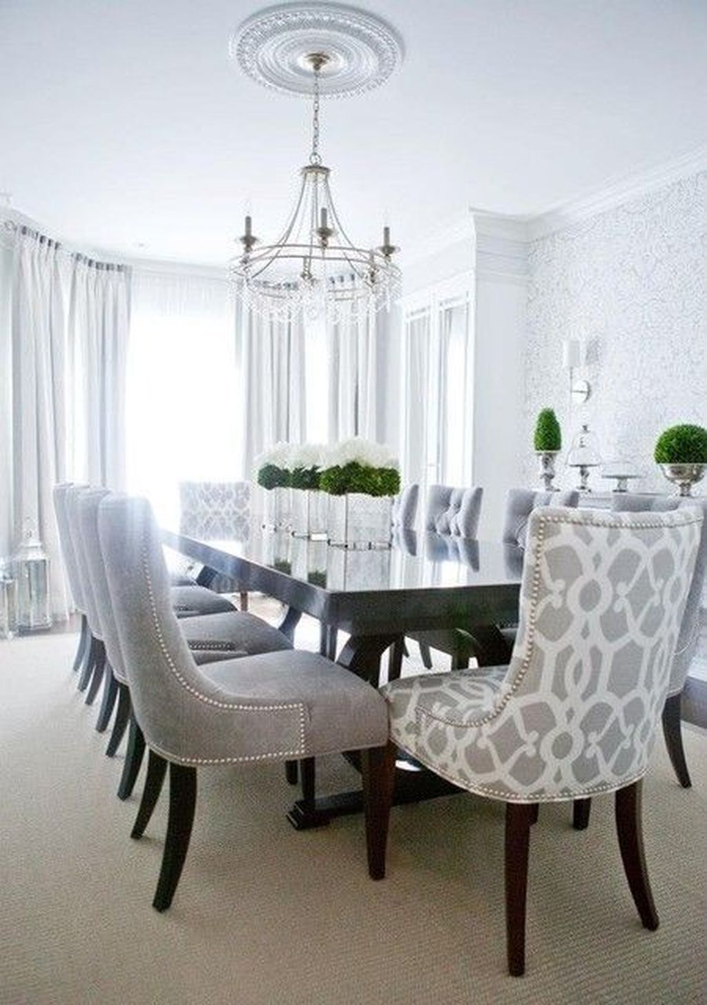 Fabulous Contemporary Dining Room Decorating Ideas 26
