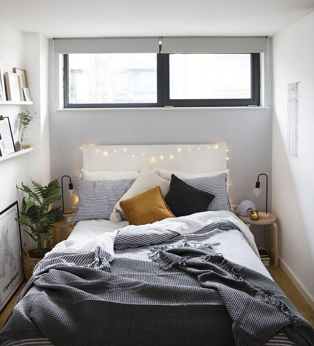 Fabulous Small Apartment Bedroom Design Ideas 23