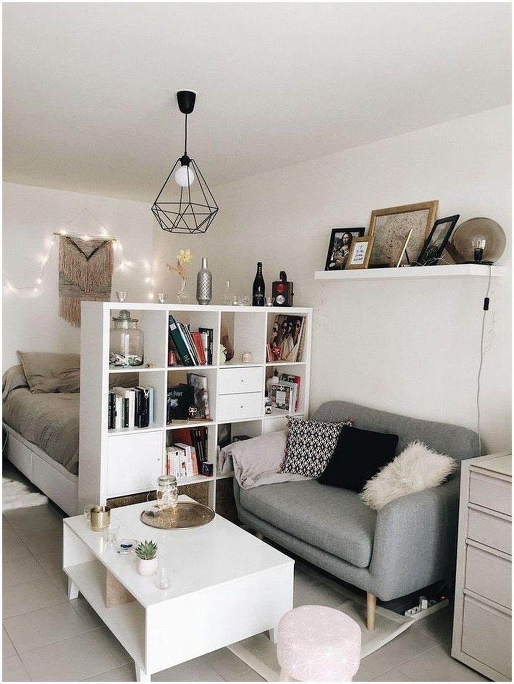 Fabulous Small Apartment Bedroom Design Ideas 30