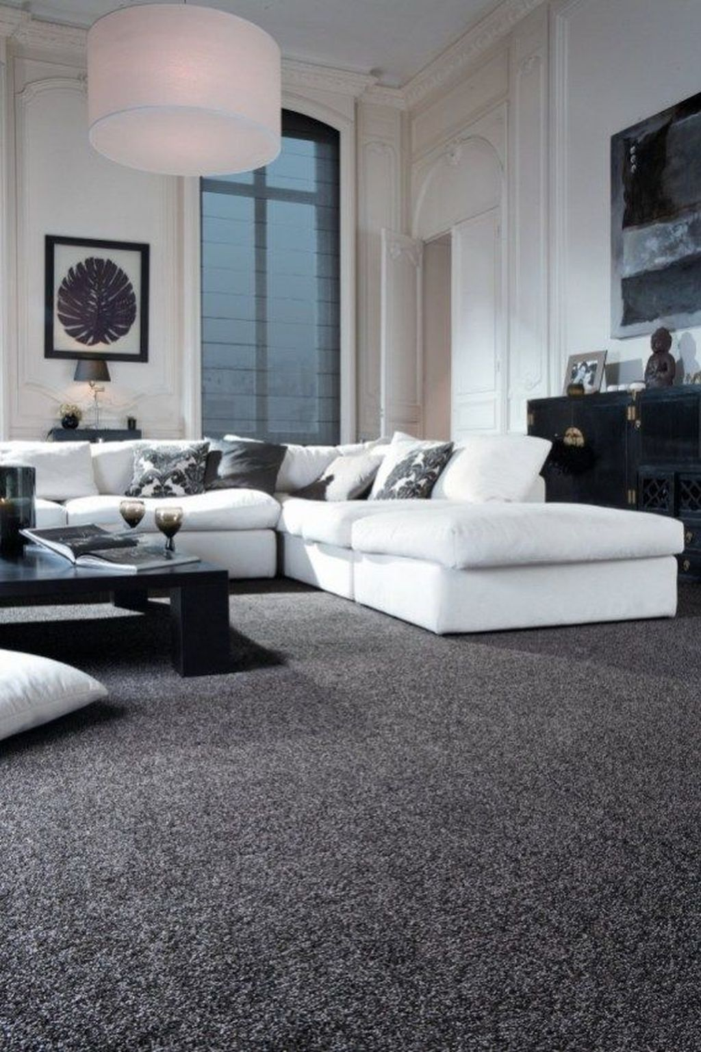 Fascinating Living Room With Carpet Decorating Ideas 15