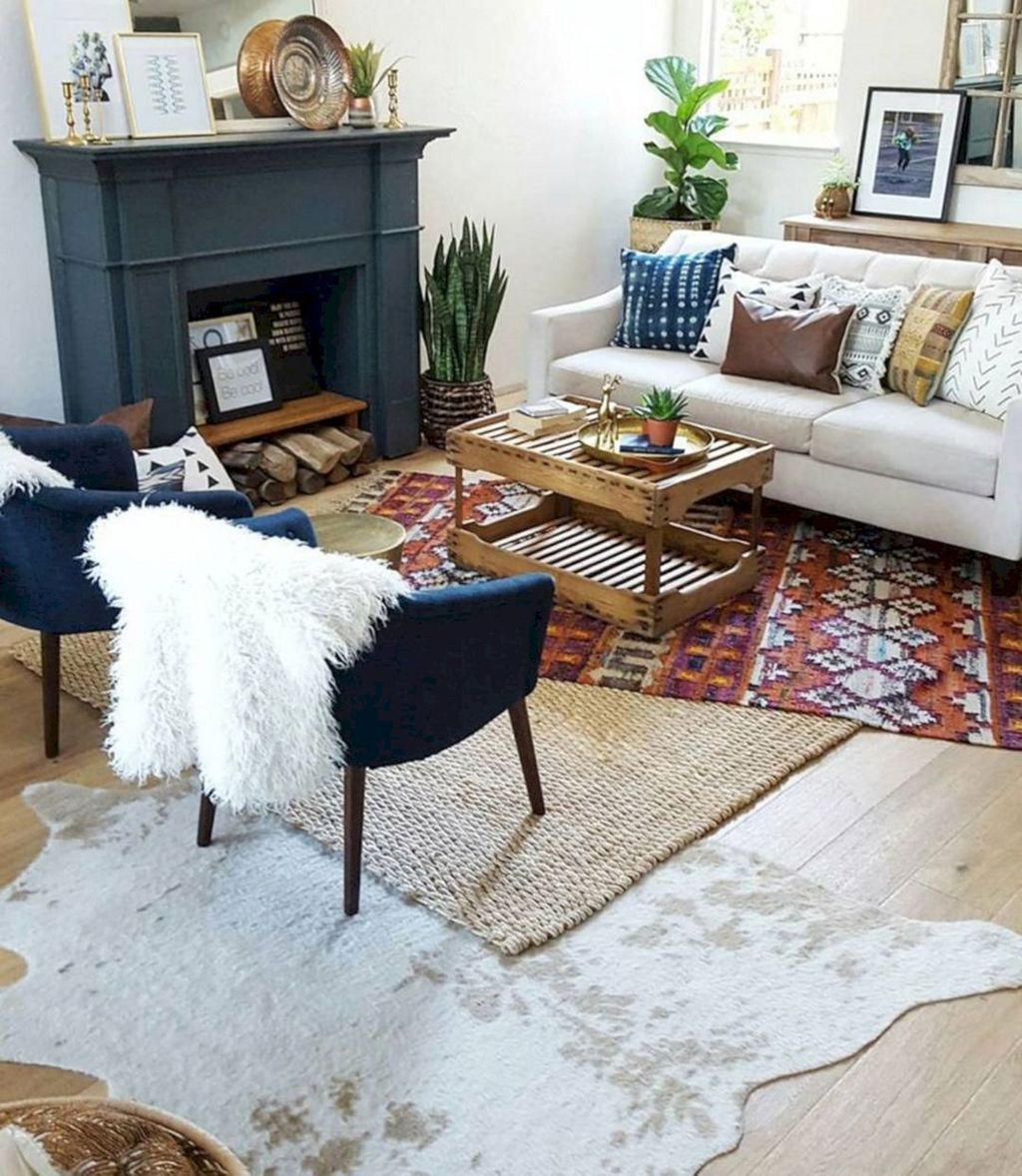 Fascinating Living Room With Carpet Decorating Ideas 28