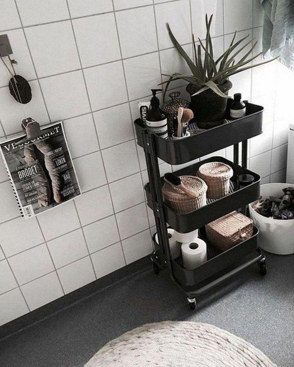 Fascinating Simple Apartment Bathroom Decor Ideas 12