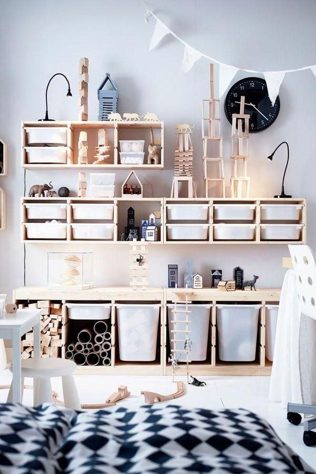 Inspiring Toy Storage Design Ideas 22