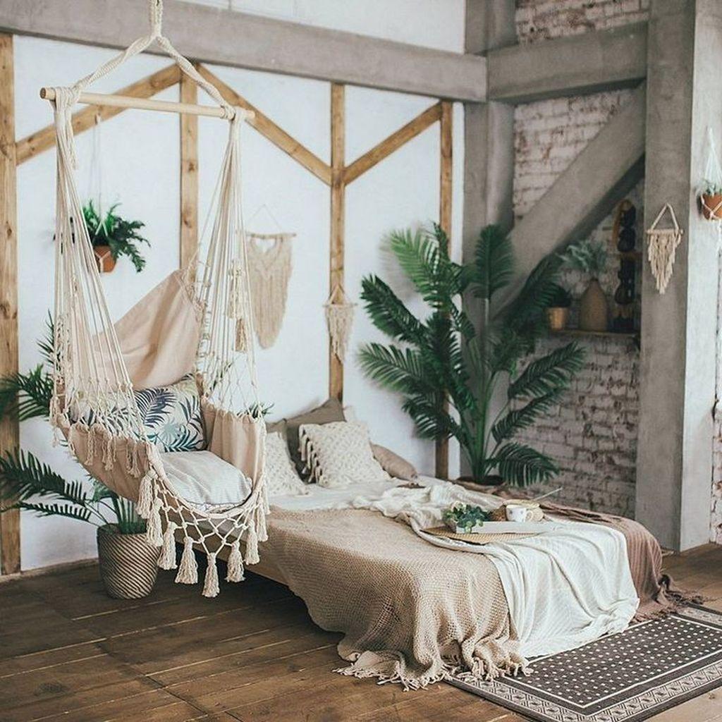 Lovely Boho Chic Bedroom Decor Idea 01