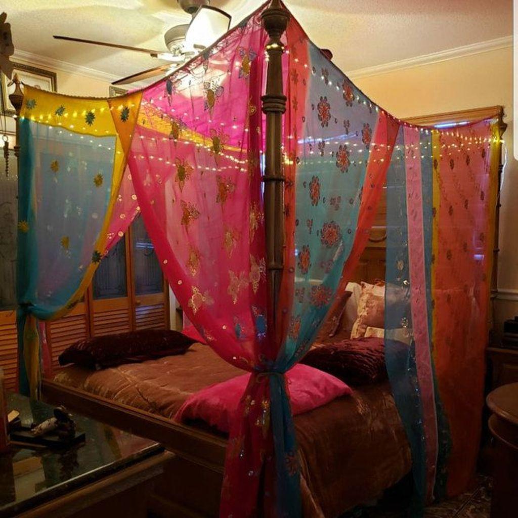 Lovely Boho Chic Bedroom Decor Idea 06