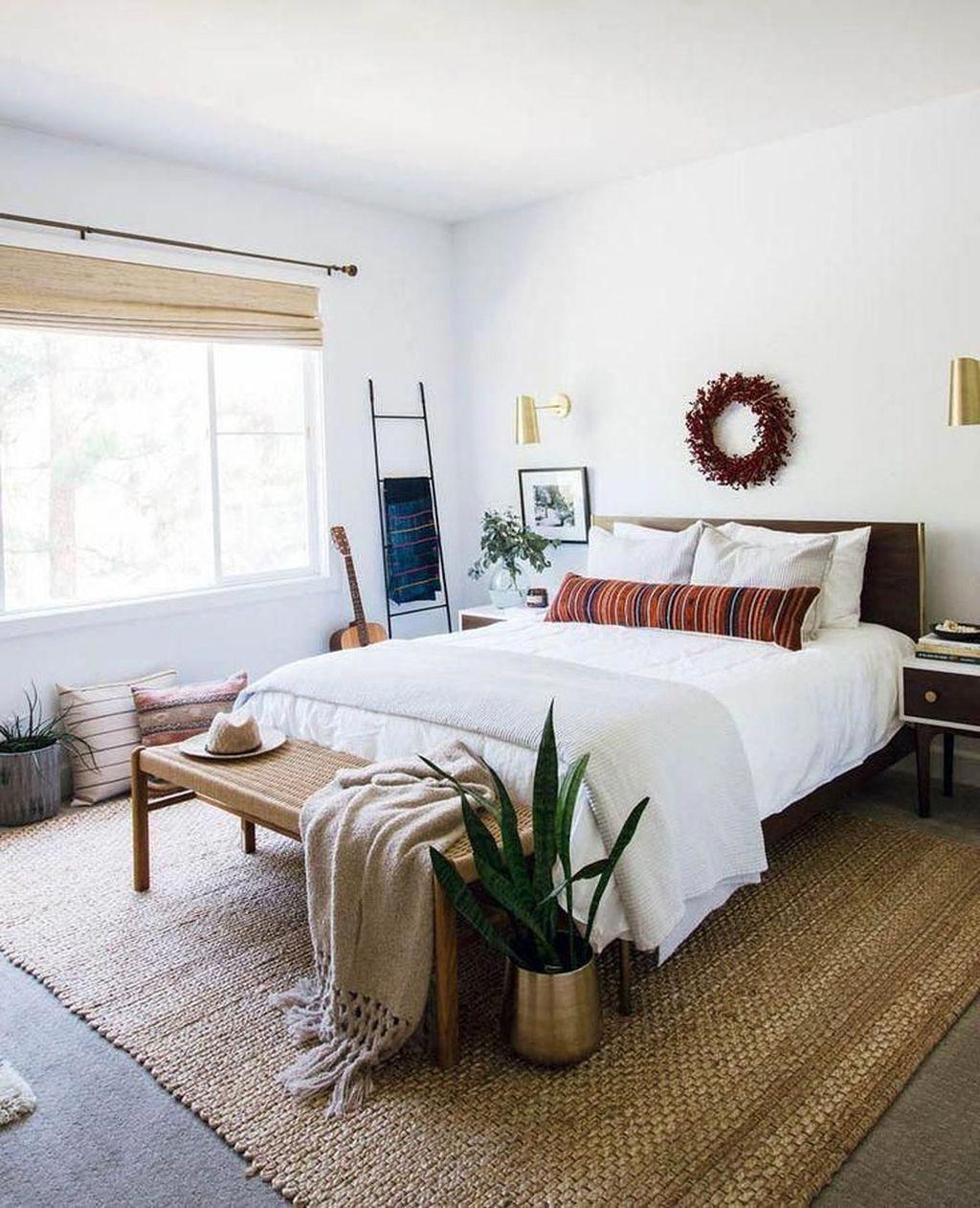 Lovely Boho Chic Bedroom Decor Idea 18