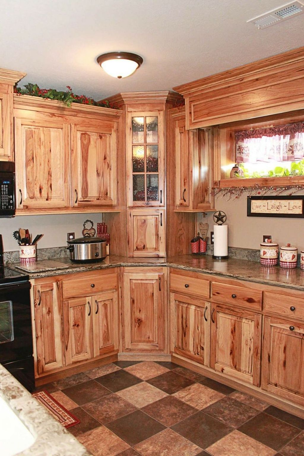 Nice Rustic Farmhouse Kitchen Cabinets Design Ideas 06